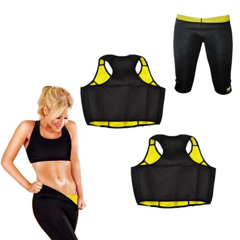 Buy Two Thermo Slim Crop Tops and Get a Pair of Thermo Slim Knee Pants For Free
