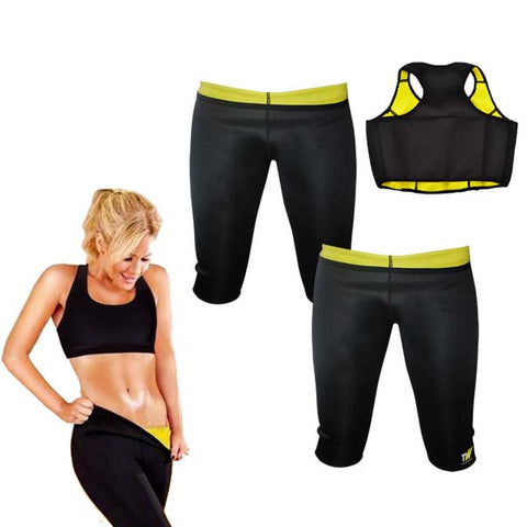 Buy Two Thermo Slim Pants and Get a Thermo slim Crop Top Free