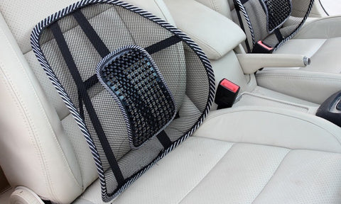 Car Lumbar Support - Back Support Pillow for your Car Seat by Remedy Health