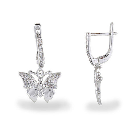 Butterfly Drop-Earrings
