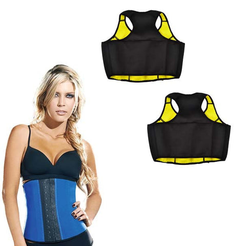Buy Two Thermo Slim Crop Tops and Get a Thermo Slim Cincher Waist Trainer For Free