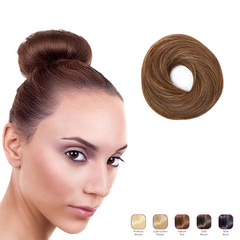 Buy 2 Hollywood Hair Classic Bun and get 1 Flat Braid Headband