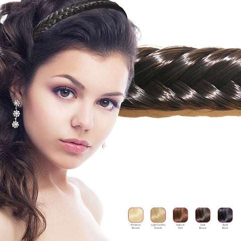 Hollywood Hair Fish Tail Braid Headband