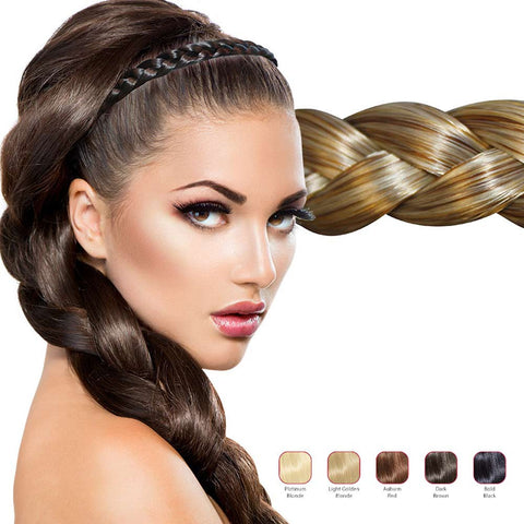 Buy 2 Hollywood Hair Flat Braid headband and get 1 Free