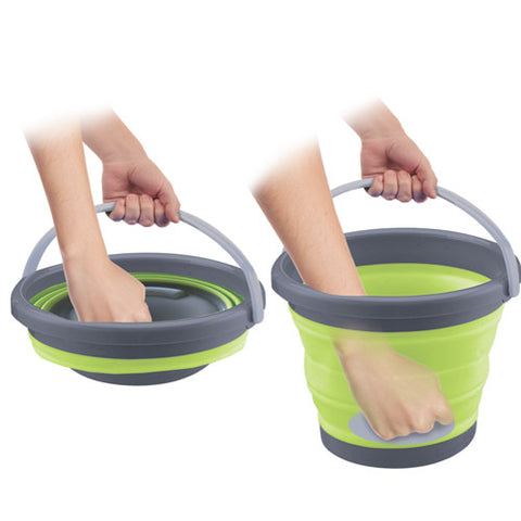Collapsible Multi-use Silicon Bucket