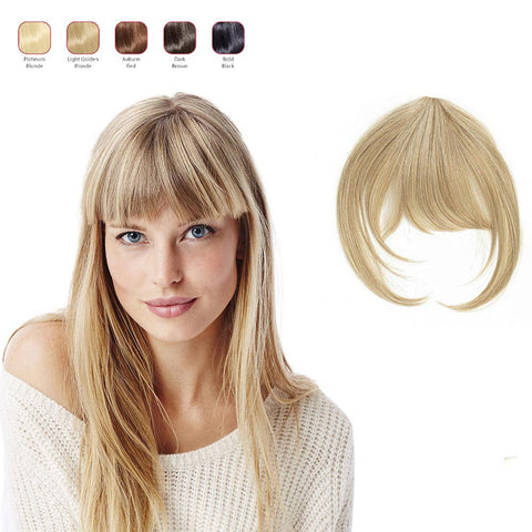 Buy 2 Hollywood Hair Sweeping Side Fringe and get 1 Fringe with Bangs