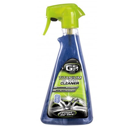 GS27 Titanium Gel Wheel Cleaner