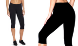 Ladies Exercise Leggings by Thermo Slim Hot Activewear Apparel