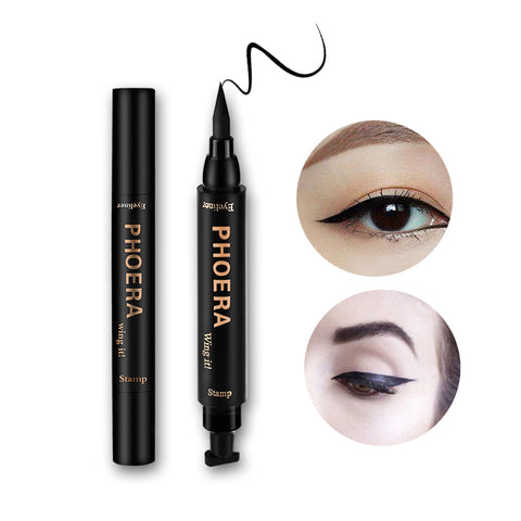 Pheora Black 2-in-1 Winged Eyeliner Stamp Applicator
