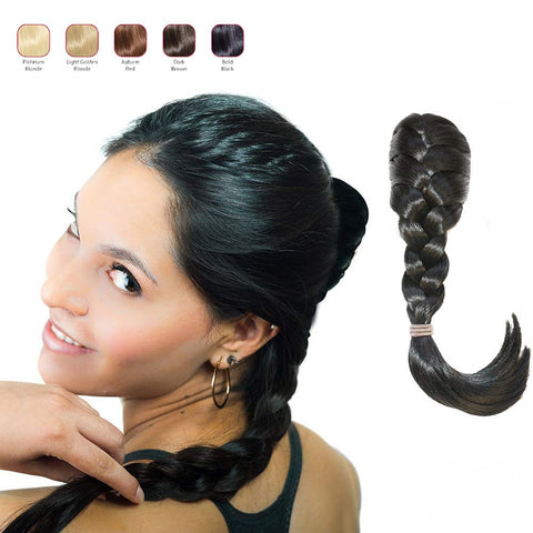 Buy 2 Hollywood Hair French Plat Hair Piece and get 1 Ponytail Hair Hair Piece