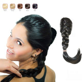 Buy 2 Hollywood Hair French Plat Hair Piece and get 1 Free Fringe with Bangs