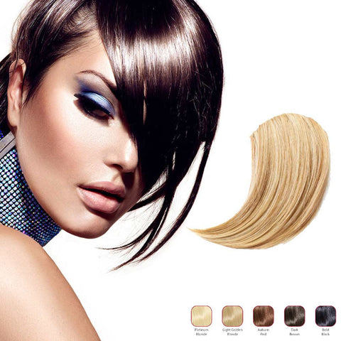 Buy 2 Hollywood Hair Sweeping Side Fringe and get 1 Free