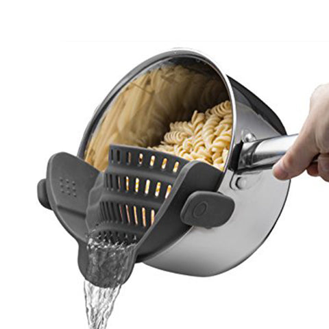Snap 'n Strain Silicone Strainer