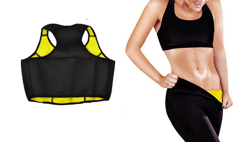 Thermo Slim Neoprene Workout Tank Top for Woman
