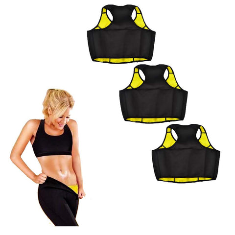 Buy Two Thermo Slim Workout Crop Tops and Get a Third One Free