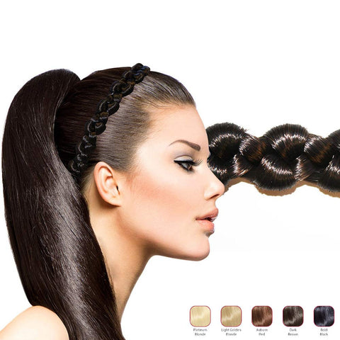 Hollywood Hair Thick Braid Headband
