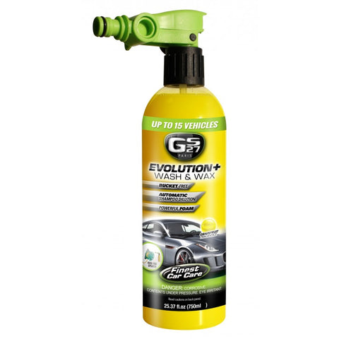 GS27 Evolution Wash and Wax with Hosepipe Adaptor