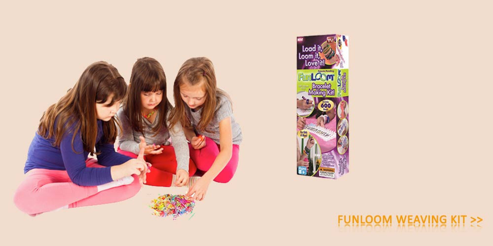 Shop For Funloom Jewellery Making KIts For Kids