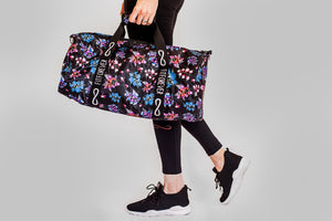 Fuchsia Fit Duffle Bag