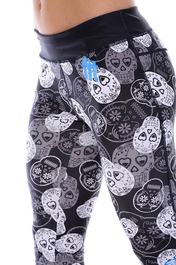 Skull Tights 7/8 Length