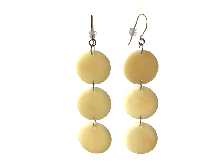 Tagua Earrings A16