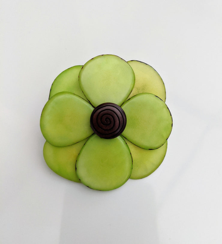 Flower Brooch (click for colour options)