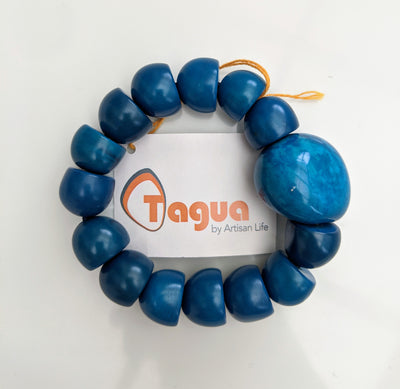Wawataga Bracelet in Full Blue