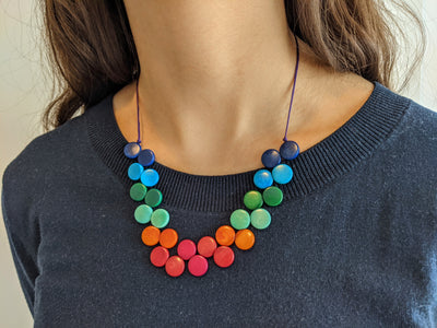 Chankleta Necklace in Multicolour