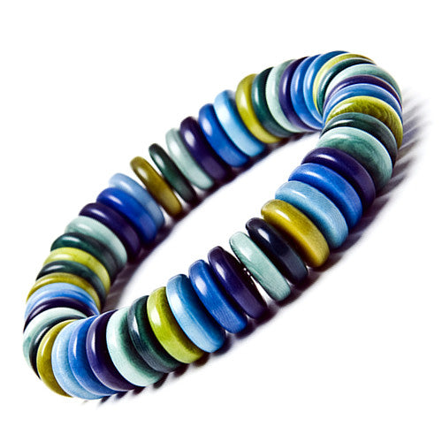 Zebra Bracelet in Ocean Colours