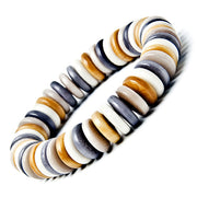 Zebra Bracelet in Earth Colours