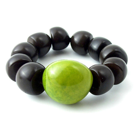 Wawataga Bracelet in Green