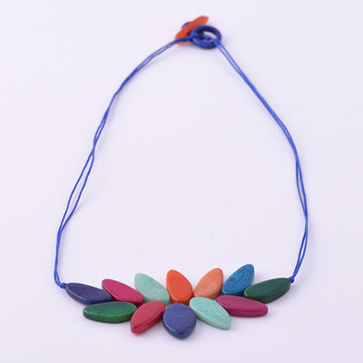 Yuyutin Necklace in Multicolour
