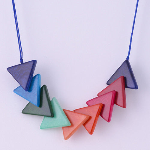 Triaguzo Necklace in Multicolour