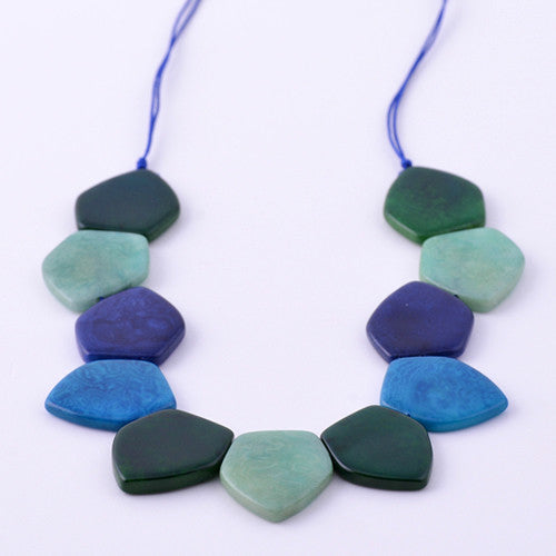 Ciprio Necklace in Ocean