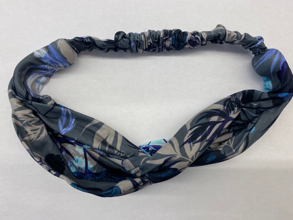 Head band in Moon Flower