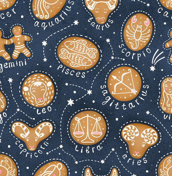 Personal Mask in Astrology Gingerbread
