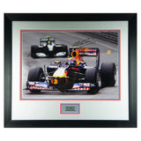 Signed Mark Webber Red Bull Racing F1 Photo Display - Formula 1 + COA