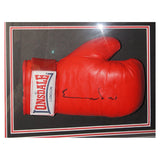 Signed Nigel Benn v Chris Eubank Boxing Gloves Framed Display - Champions + COA