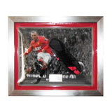 Wayne Rooney Man Utd Signed Nike 2012 Boot Framed - Manchester United & England