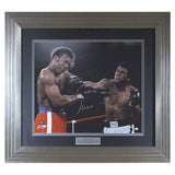 Signed Muhammad Ali Framed Large Print - Foreman Punch - Online Authentics