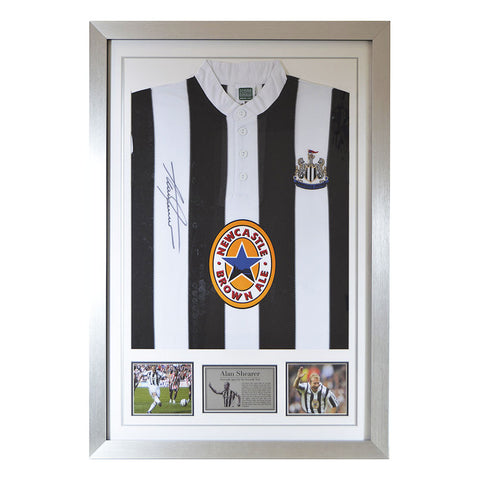 Signed Alan Shearer Newcastle United Shirt - Front