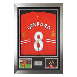 Signed Steven Gerrard Testimonial Ltd Edition 2013-14 Liverpool FC Shirt