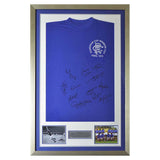 Hand Signed & Framed Rangers European Cup Shirt - 1972 Winners