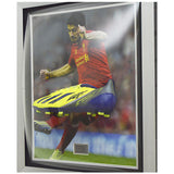 Hand Signed Luis Suarez Liverpool FC Framed Adidas F50 Boot Display + COA