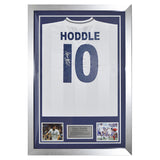 Signed Glenn Hoddle Tottenham Hotspur Shirt Spurs - Back