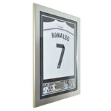 Cristiano Ronaldo Signed Real Madrid CR7 Framed 2014 Shirt Jersey