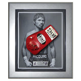 Signed Manny Pacquiao Cleto Reyes Red Pro Fight Glove Framed- Pacman