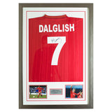 Signed Kenny Dalglish Framed Shirt Liverpool FC- No.7 - LFC Legend