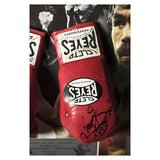 Signed Manny Pacquiao & Floyd Mayweather Jr Boxing Glove Display