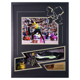 Signed Usain Bolt Worn Spike - Very Rare - 2012 Olympics